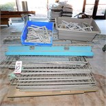 LOT - PALLET OF DISASSEMBLED WORKBENCHES W/ SHELVING