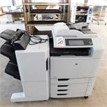 HP COLOR LASER JET CM6040F MFP COLOR PRINTER, HP PRODUCT NO Q3701-60020, S/N JPCCB5R02S