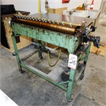 """32"""" GLUE APPLICATION MACHINE W/ 5 CASES OF OLYMPIC NON-HAZARDOUS FOOD PACKAGING ADHESIVE"""