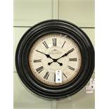 Wall Clock (Antoine) See Picture For Dimensions and Product Info