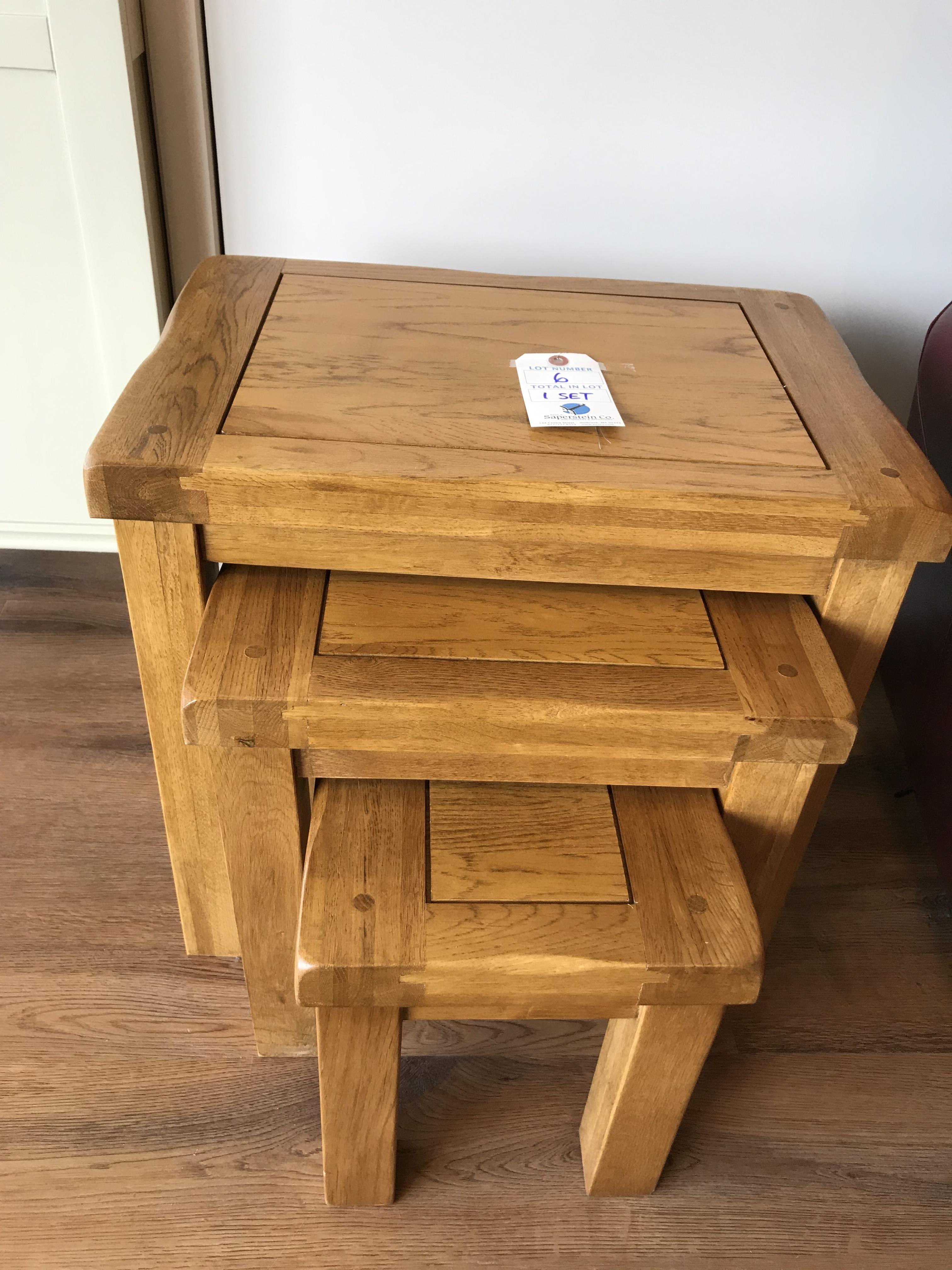 Nesting Table (Original Rustic) See Picture For Dimensions and Product Info