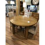 Extending Table (Knights Bridge) See Picture For Dimensions and Product Info