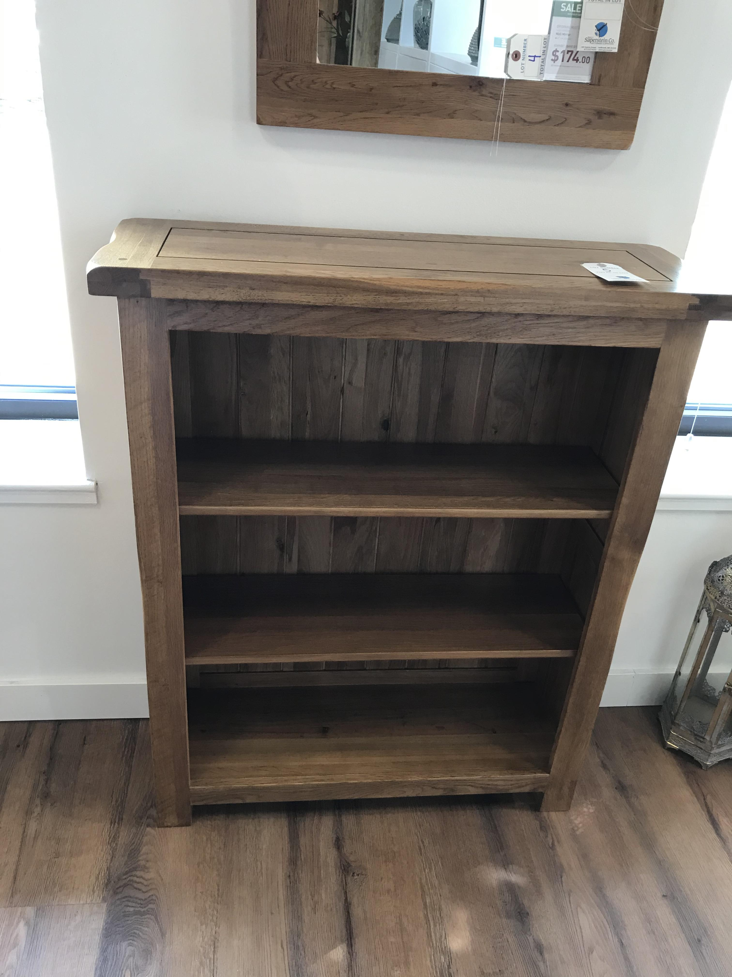 Small Bookcase (Original Rustic) See Picture For Dimensions and Product Info