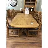 Extending Dinning Table (Hercules) See Picture For Dimensions and Product Info