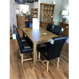 Extending Dining Table (Sherwood) See Picture For Dimensions and Product Info
