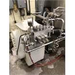 Manton Gaulin type 50-M3-8TBS Stainless Steel Homogenizer, two stage, 8000 psi, ball valves