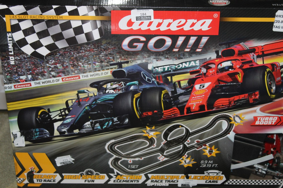 Lot 184 - Kerala Go, No Limits F1 Scale electric Set, RRP£70.00 (4382338) (Public Viewing and Appraisals