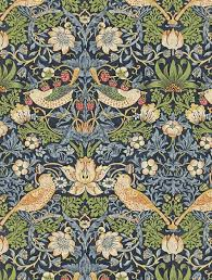 Lot 801 - Rolls Of Morris And CO 10.05M X 52CM Bird And Pomegranate RRP £80 (4644938) (4644607) (Public