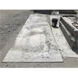 """{LOT} ASSORTED STEEL PLATES, .25""""- .50"""" INSPECTION ENCOURAGED"""