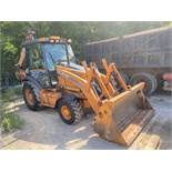 2007 CASE #580 SUPER M LOADER/BACKHOE, HOURS 4800, SEE DESCRIP (NO SNOW PUSHER INCLUDED IN THIS LOT)