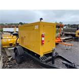 2011 CAT #XQ20-4 TOWABLE GENERATOR, HRS: 6,056, PINTLE HITCH, 3 PHASE, 208/480V