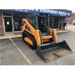 2018 MUSTANG TRACK SKID STEER #2150RT LOADER, HOURS 187, DELUXE AIR RIDE SUSPENSION, HEAT, A/C, SELF