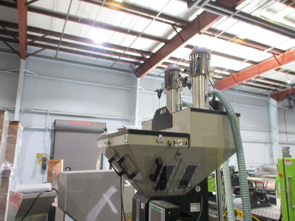 Lot 1023 - 2016 Conair True Blend Four Hopper Gravimetric Batch Blender Mounted on Stand - Model: TB 100;