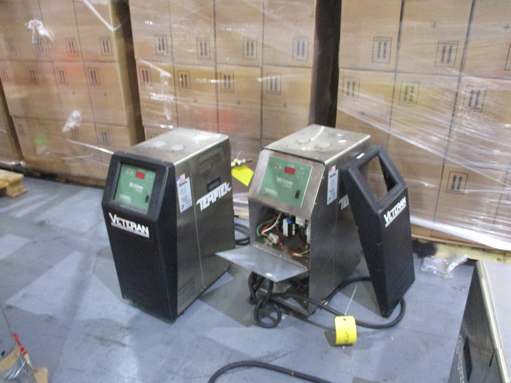 Lot 1013 - Lot of (2) Temptek Veteran LS Series Temperature Control Units - Model: VT-275-LS