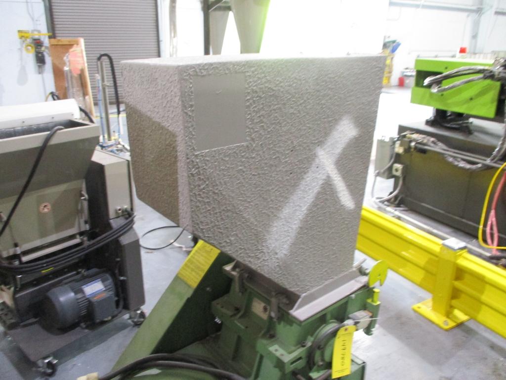 Lot 1017 - Rapid Granulator Scrap Grinder - Model: 512C; 5 HP; S/N: 30 5489