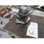 """Cleco Model 1960BSL Pnuematic 7"""" Angle Grinder"""