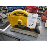 "DeWalt Model D28715 Electric 14"" Abrasive Cut-Off Saw"