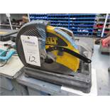 "DeWalt Model D872 Electric 14"" Abrasive Cut-Off Saw"