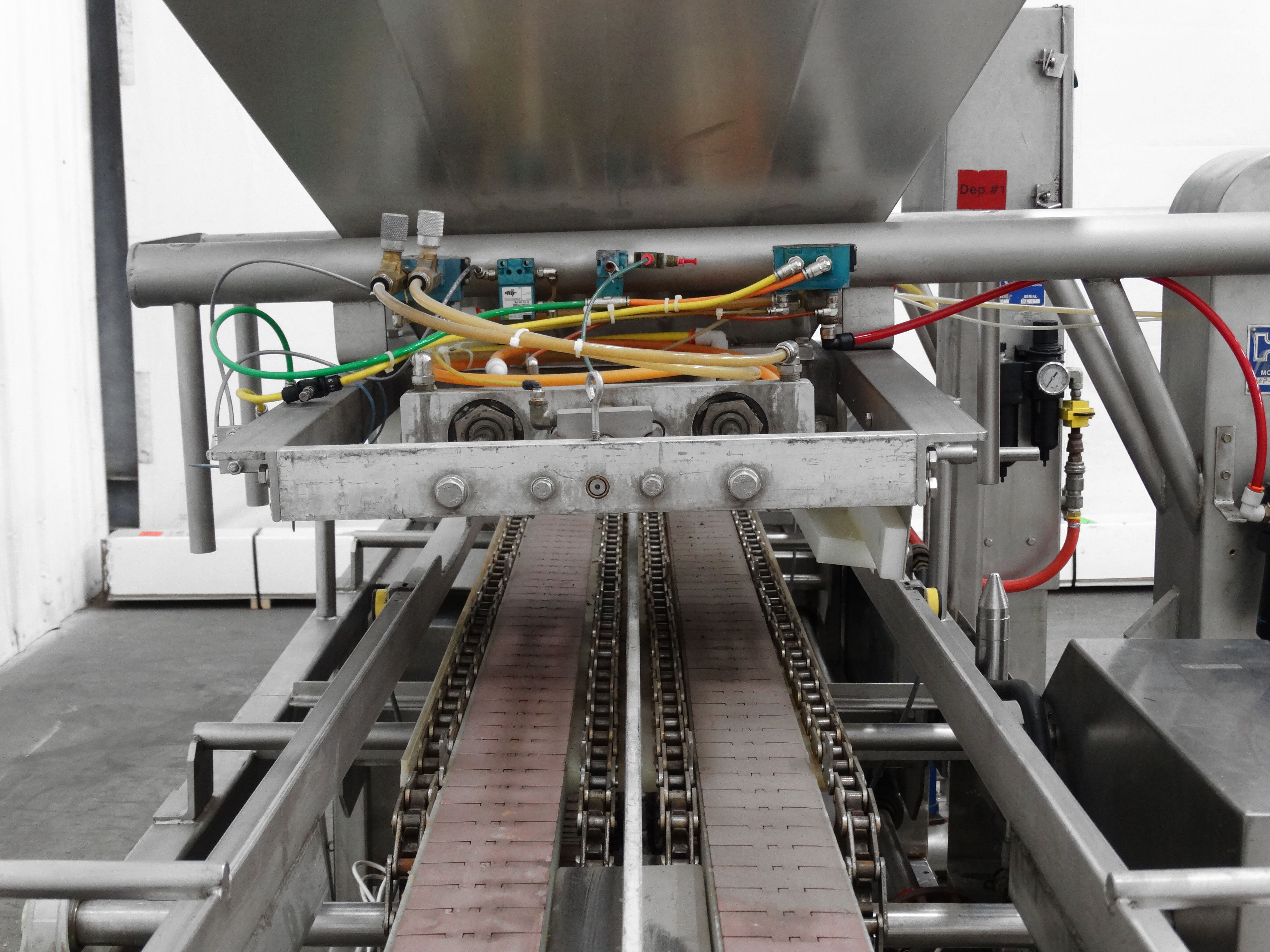Hinds-Bock Dual Depositor 4P-04 Cheesecake Line B5001 - Image 5 of 8