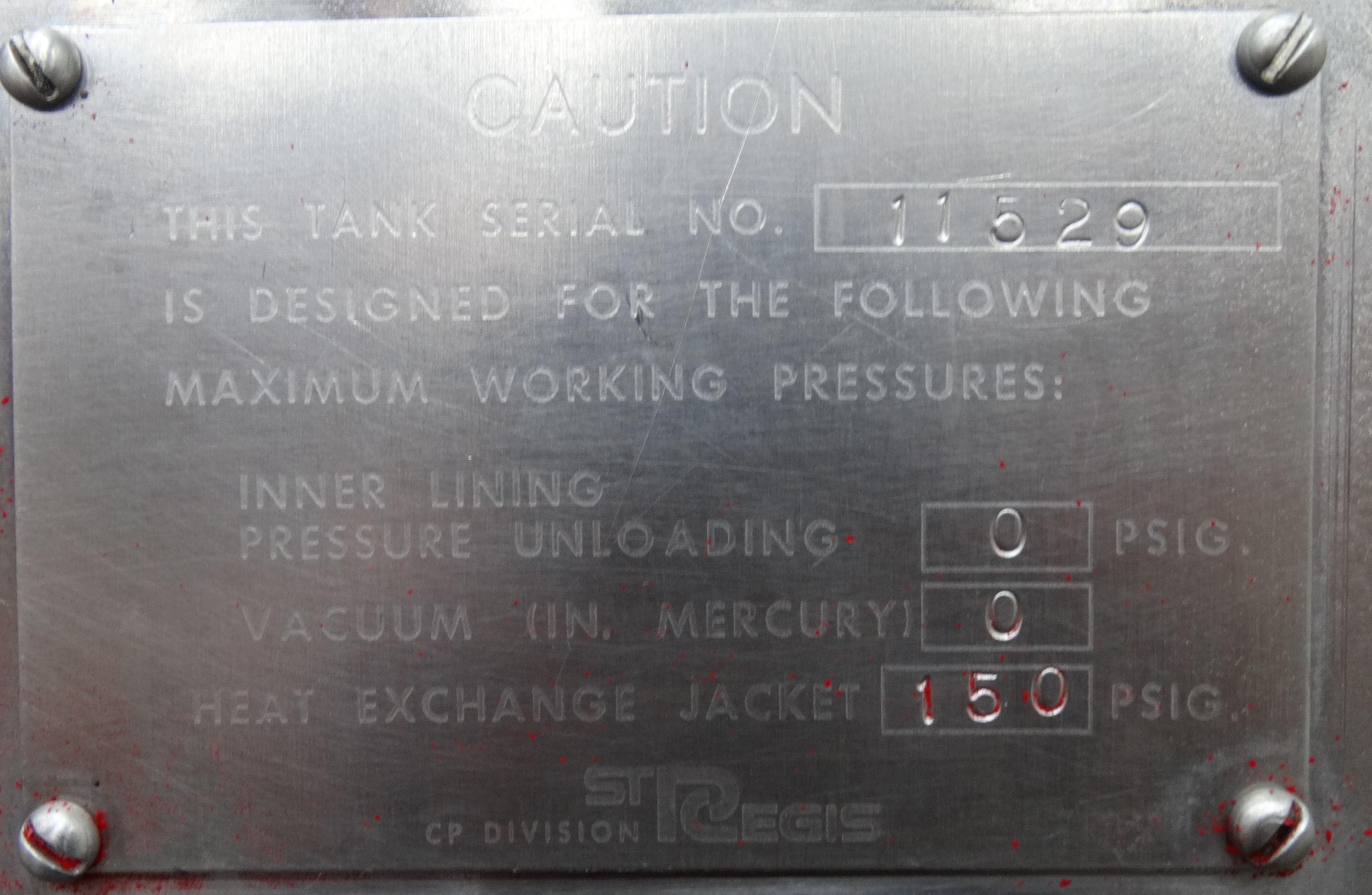 Regis 820 Gallon Ribbon Blender B3664 - Image 8 of 9