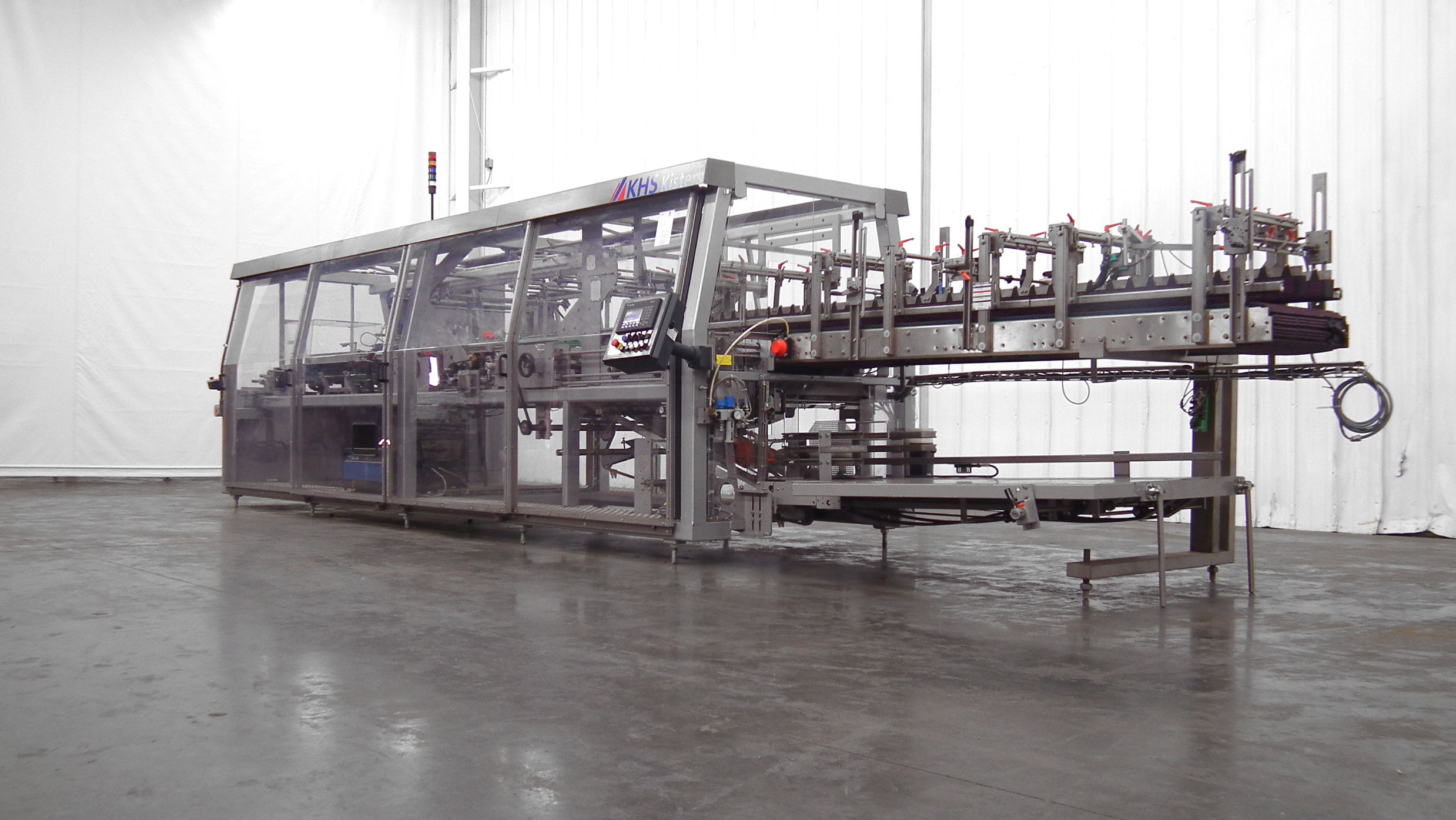 KHS Kisters Tray Packer Model TP60-B A4866