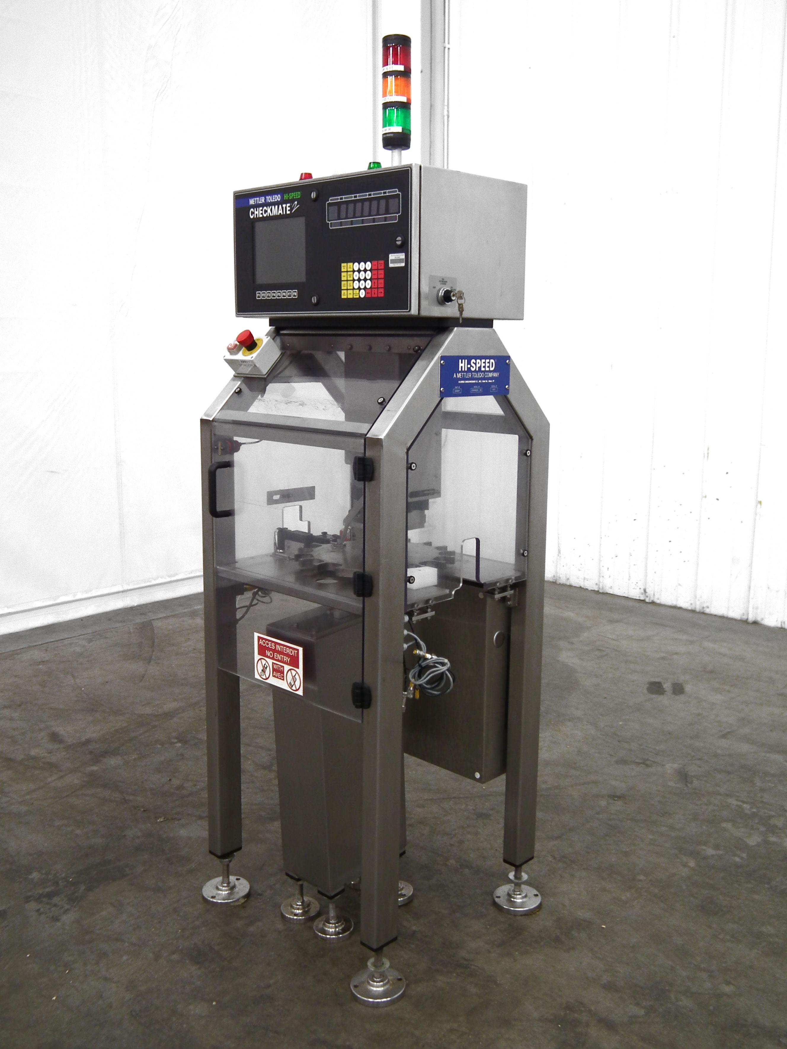 Mettler-Toledo Checkmate 2 Bottle Fill Detector B3171