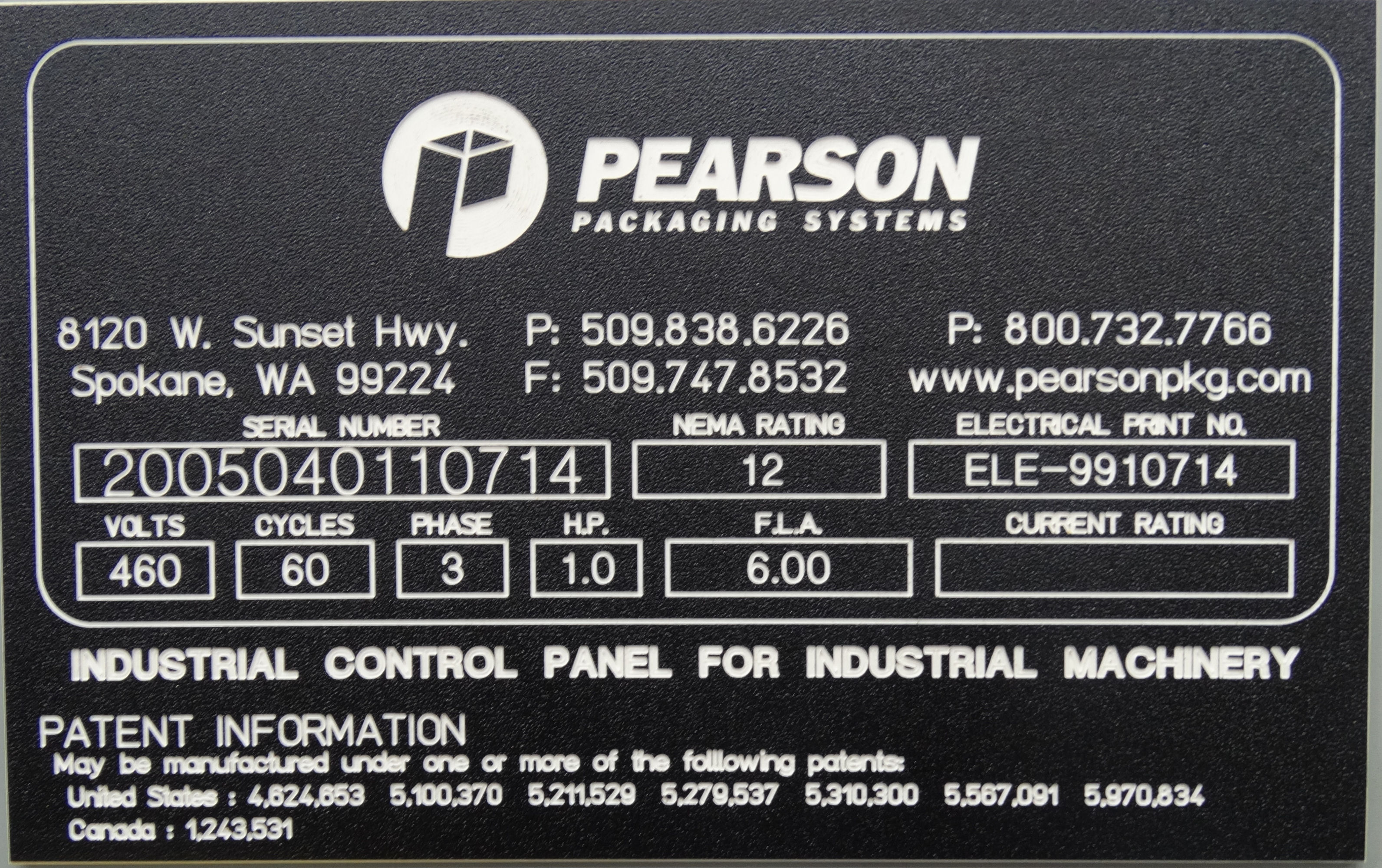 Pearson N401-IT Top Case Sealer B4395 - Image 12 of 12