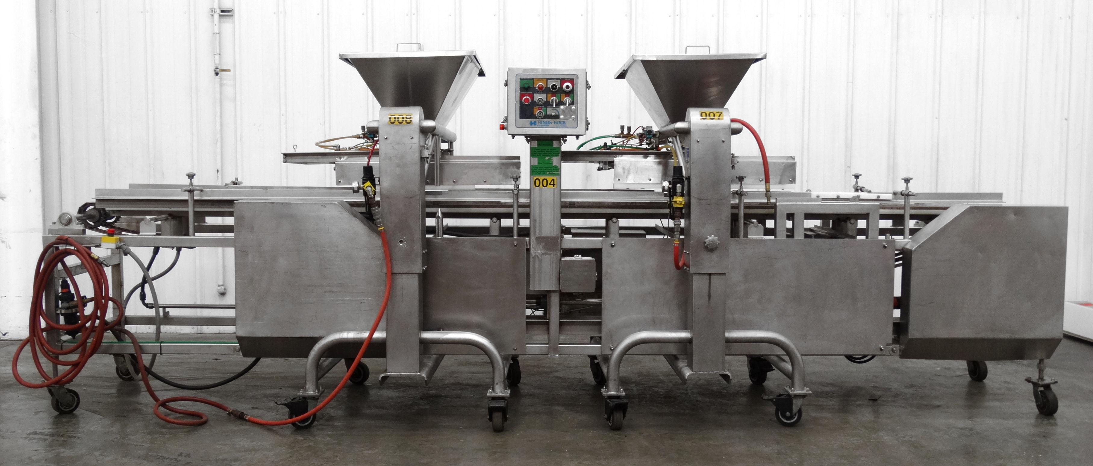 Hinds-Bock Dual Depositor 4P-04 Cheesecake Line B5001 - Image 2 of 8