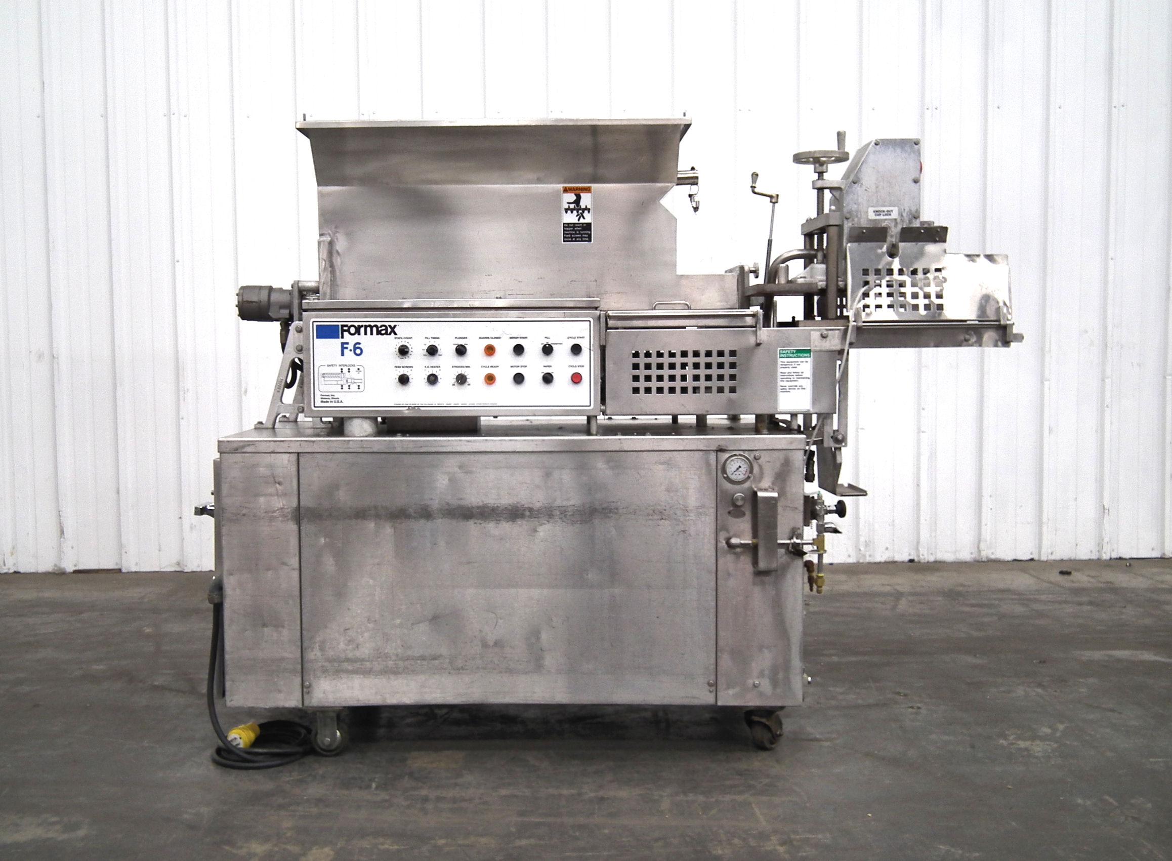 Formax PFM-6 Patty Former Vac-Tear Paper System A1952 - Image 2 of 15
