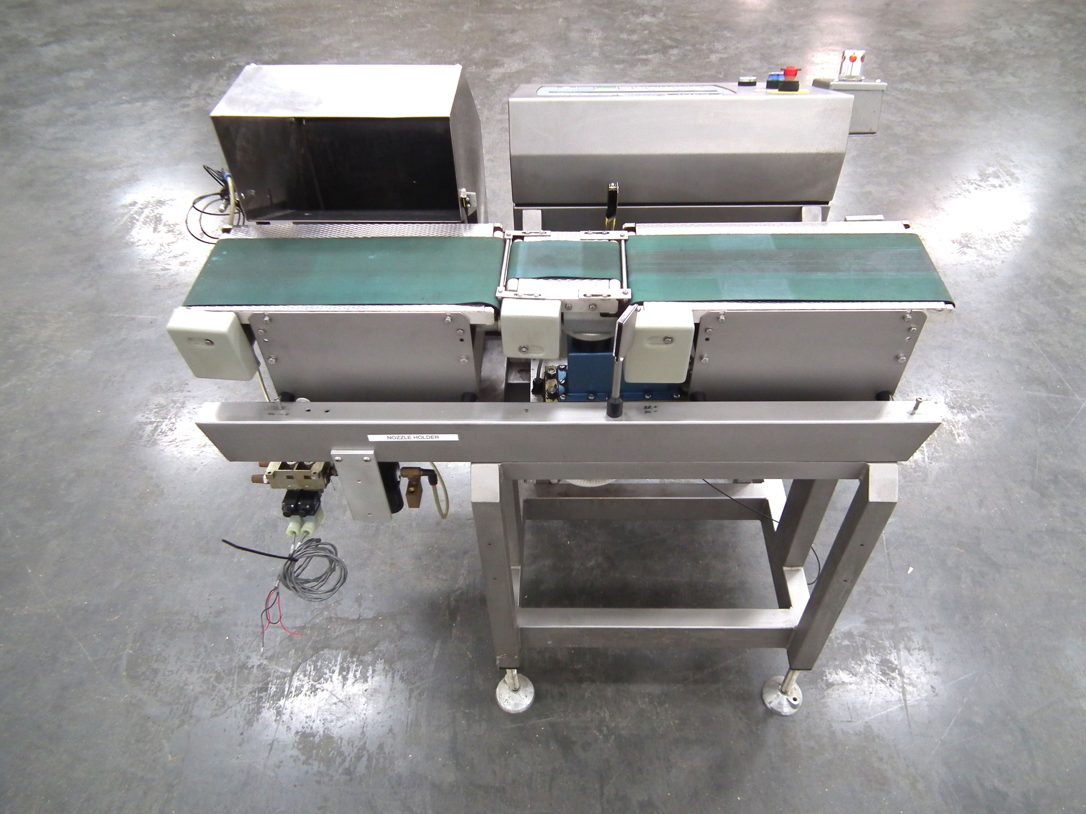 """Loma 6000 Three Belt Checkweigher 5.5"""" Wide Belt B3157 - Image 6 of 9"""