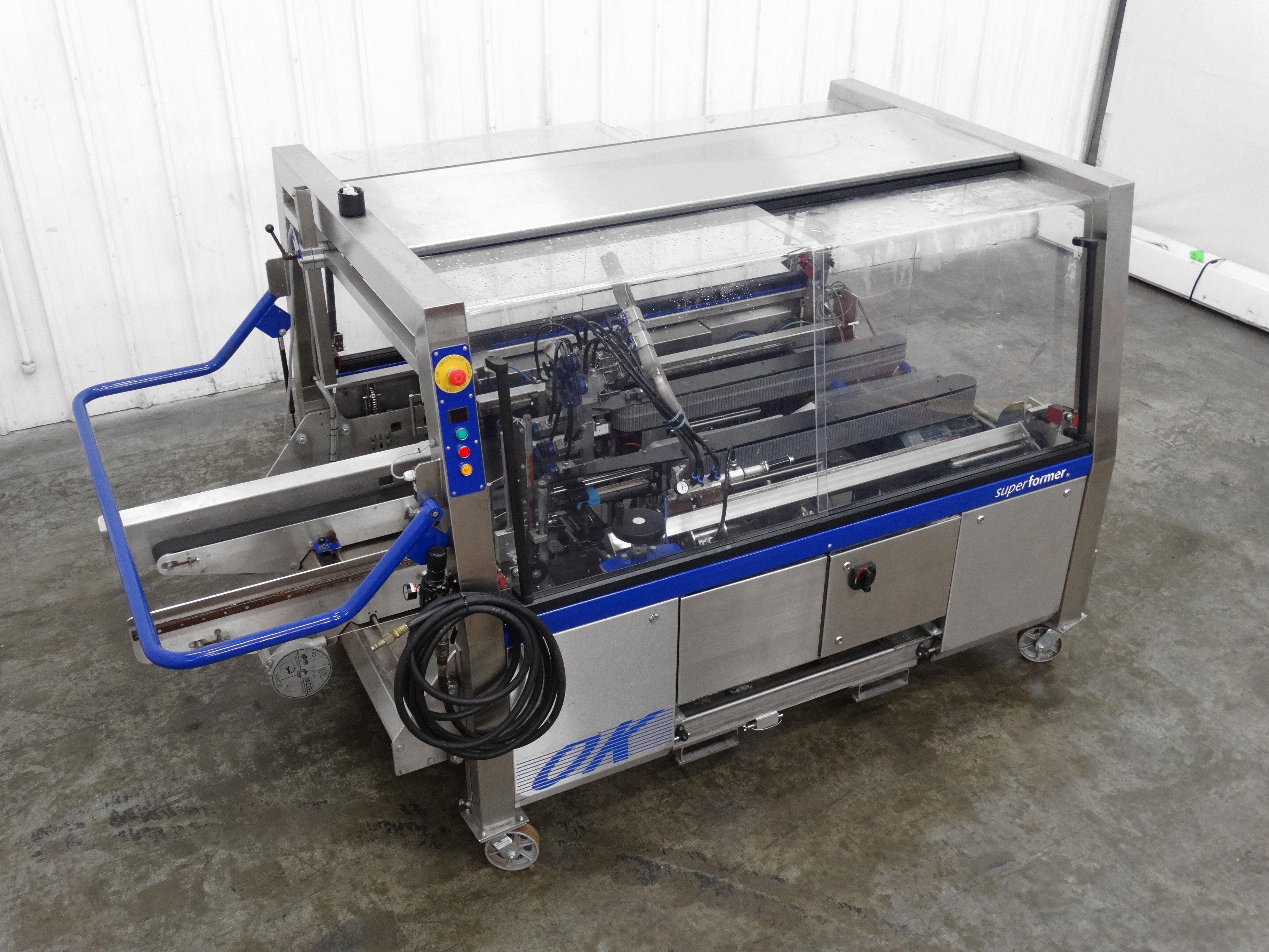 OK International Superformer 2M Case Erector B5007 - Image 6 of 16