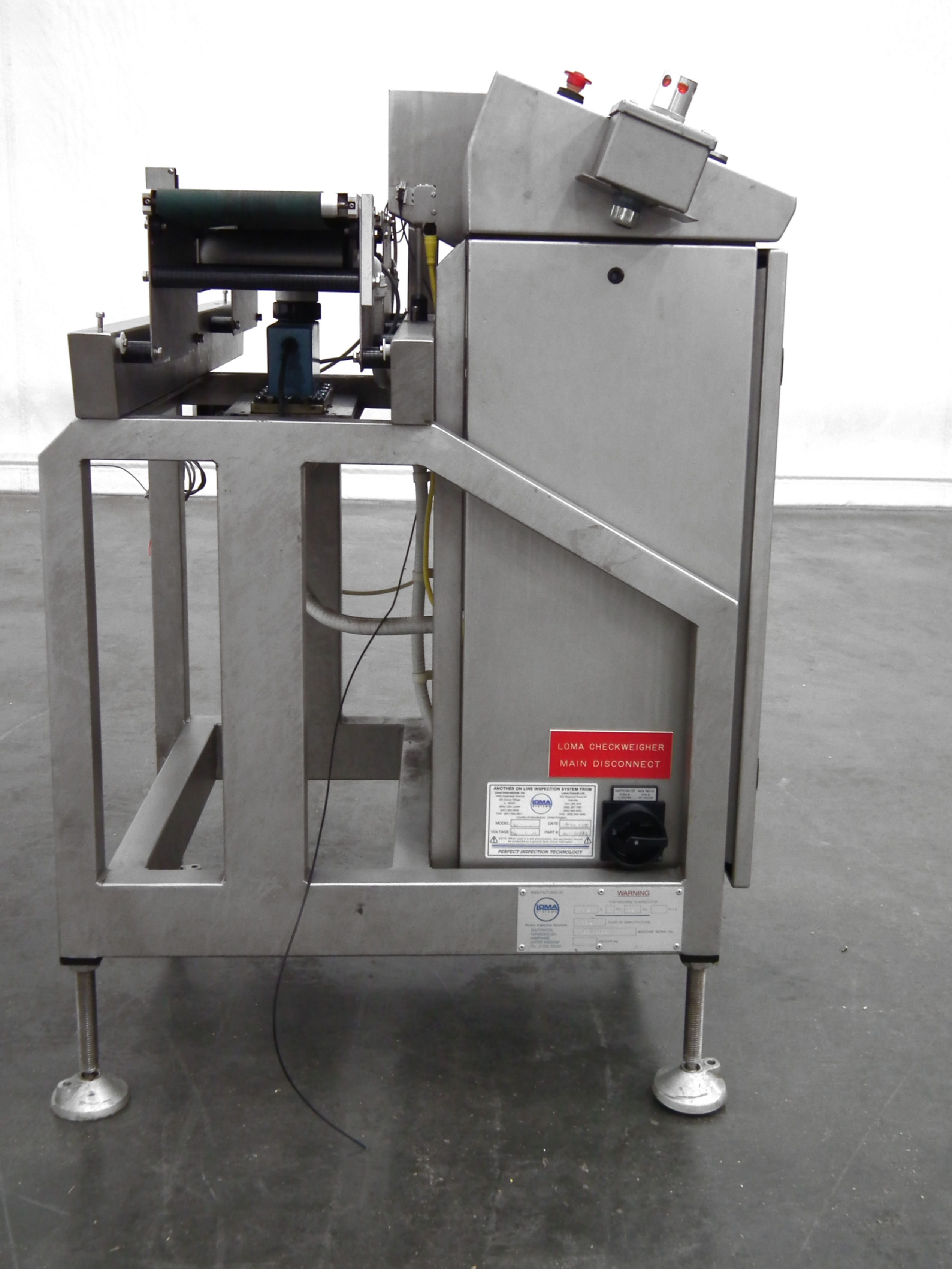 """Loma 6000 Three Belt Checkweigher 5.5"""" Wide Belt B3157 - Image 4 of 9"""