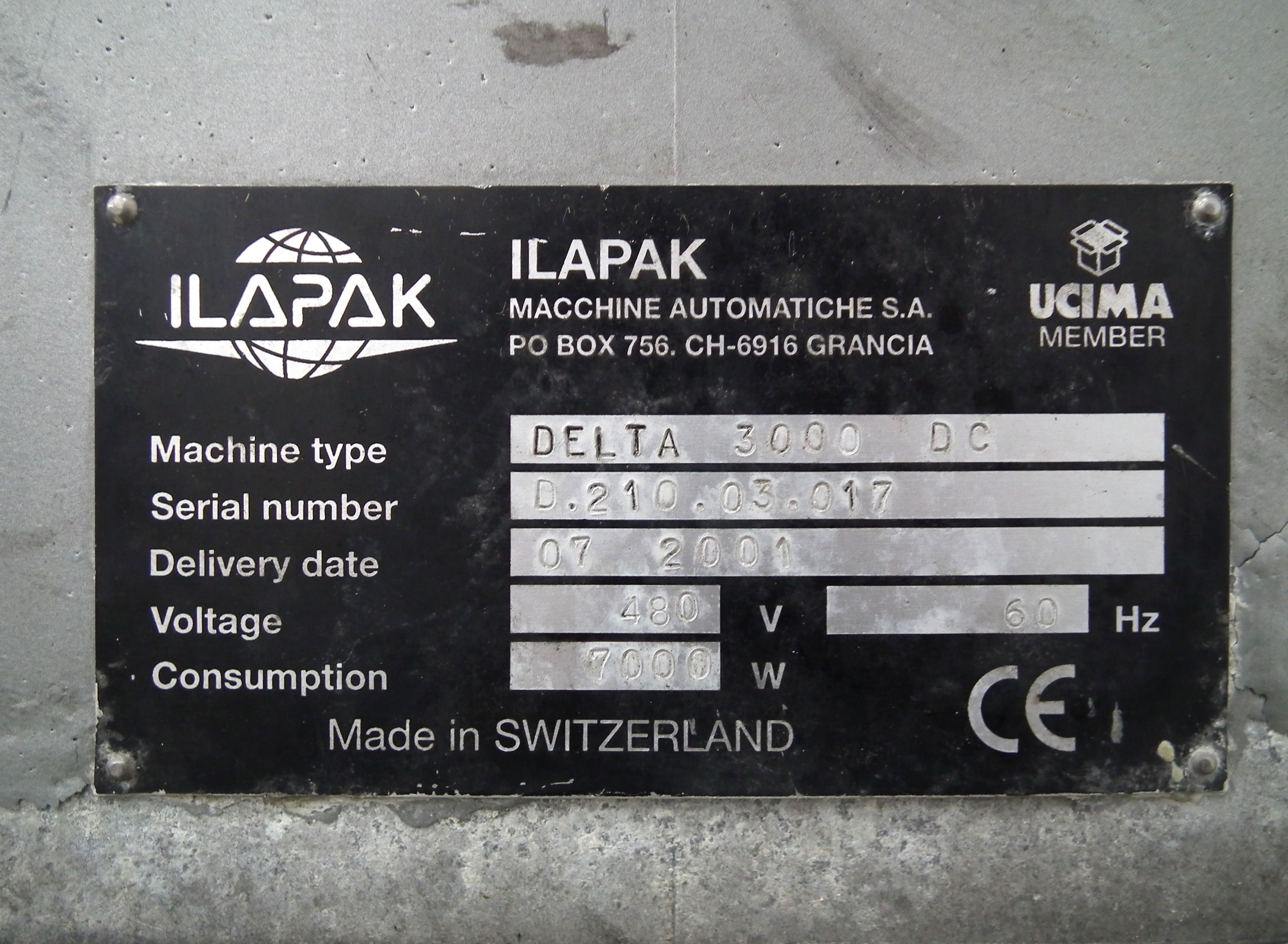 Ilapak Delta 3000 DC Wide Frame SS Wrapper B4828 - Image 11 of 11