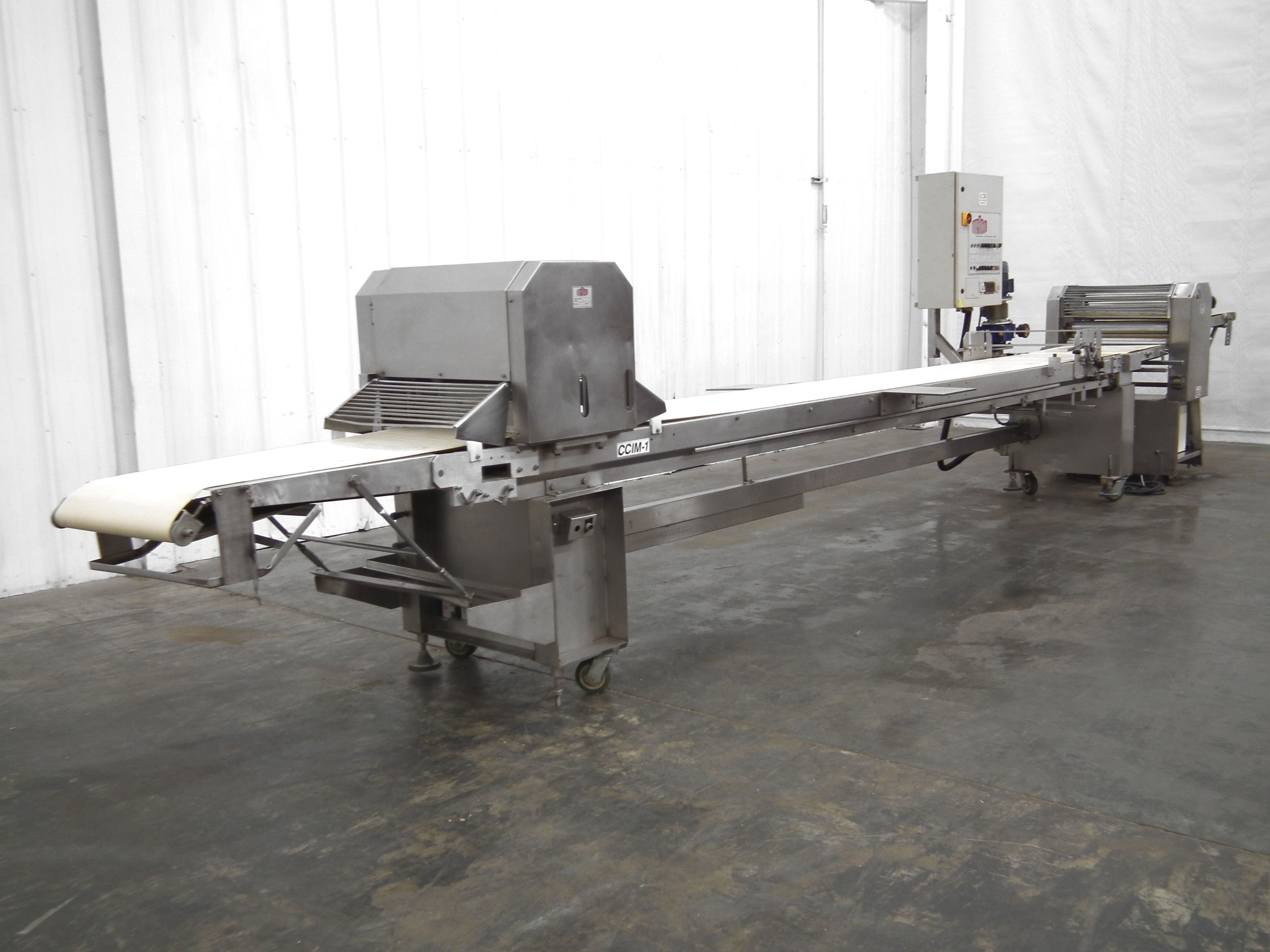 CIM Maxima 165 Dough Sheeter Guillotine 28 In Wide A7948 - Image 4 of 11