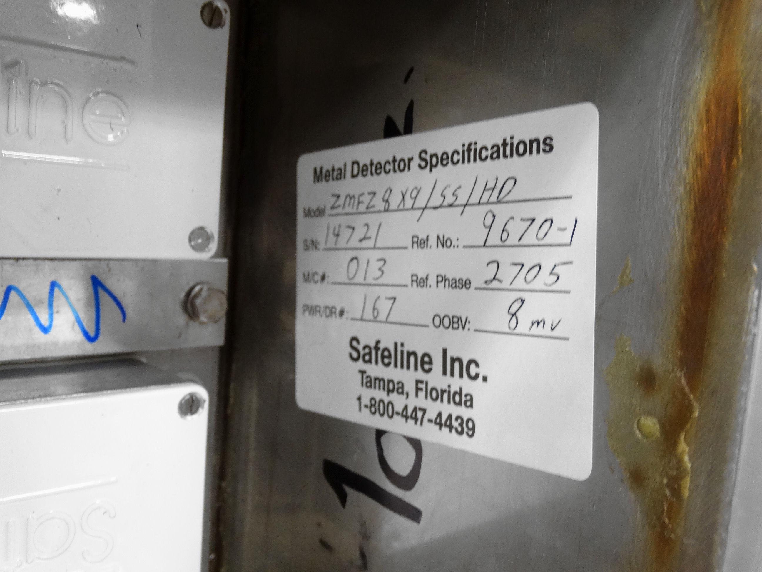 "Safeline Metal Detector Head 7.75""W x 7""H Opening B2157 - Image 7 of 8"