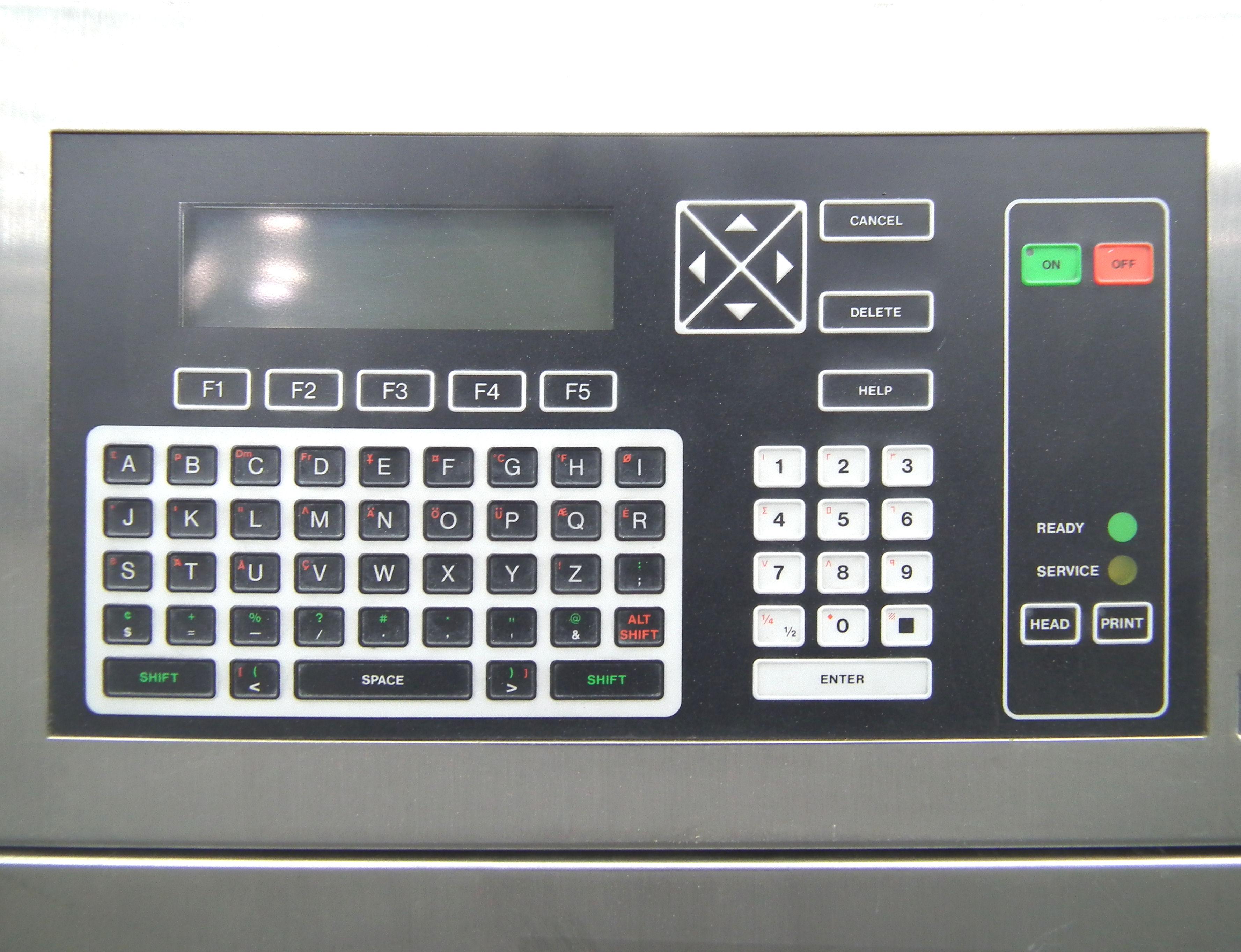 VideoJet Excel 170i Single Nozzle Ink Jet Coder A9284 - Image 4 of 9