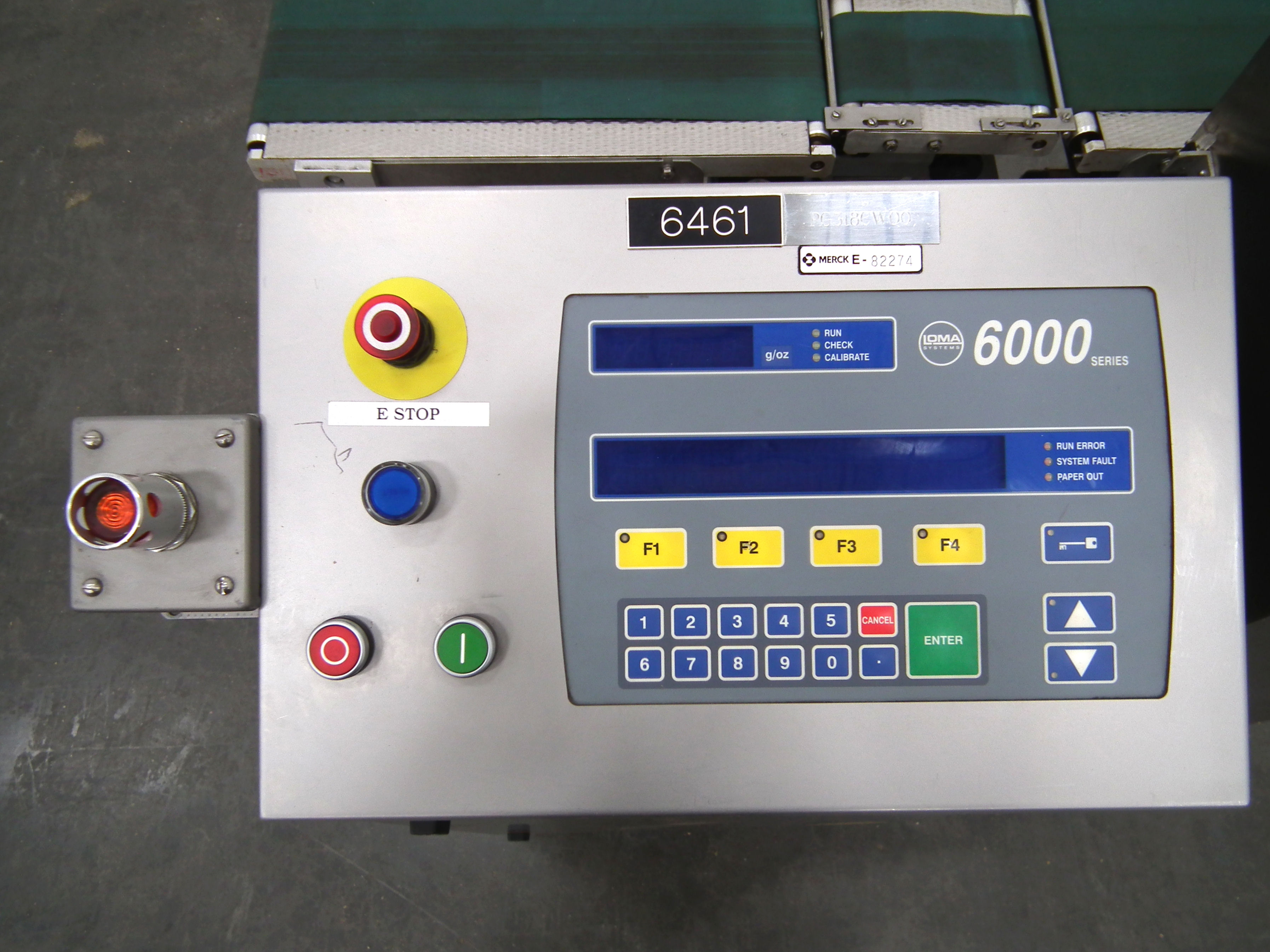 """Loma 6000 Three Belt Checkweigher 5.5"""" Wide Belt B3157 - Image 7 of 9"""