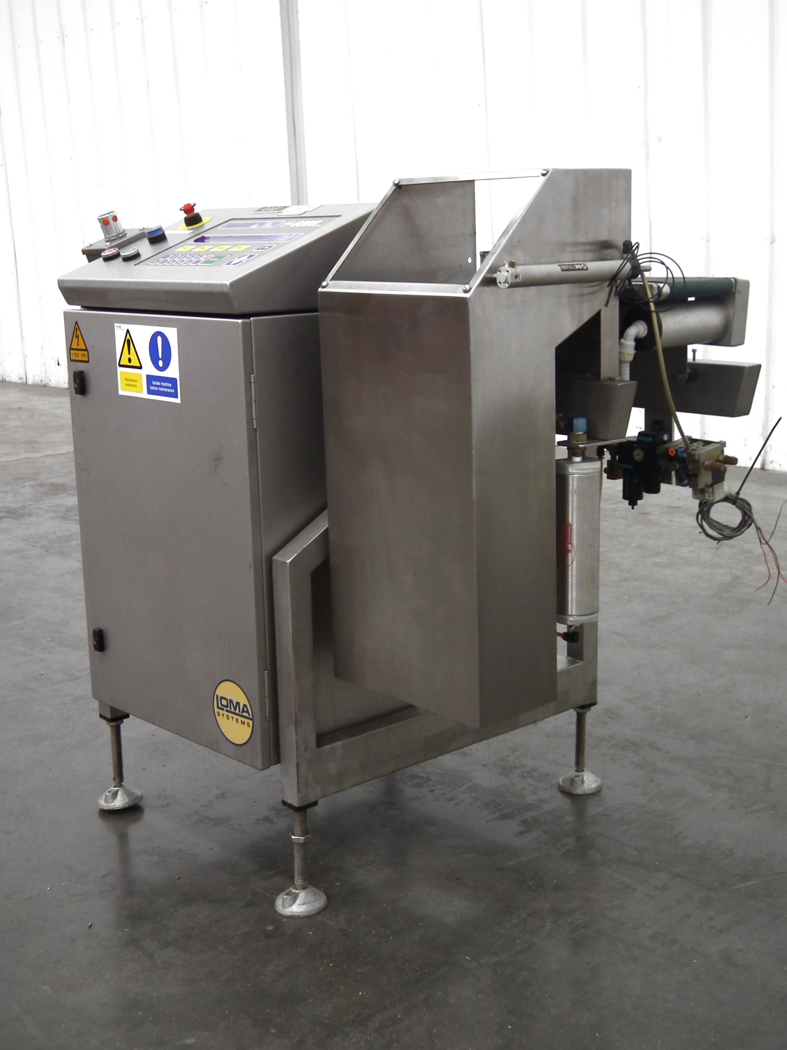 """Loma 6000 Three Belt Checkweigher 5.5"""" Wide Belt B3157 - Image 3 of 9"""