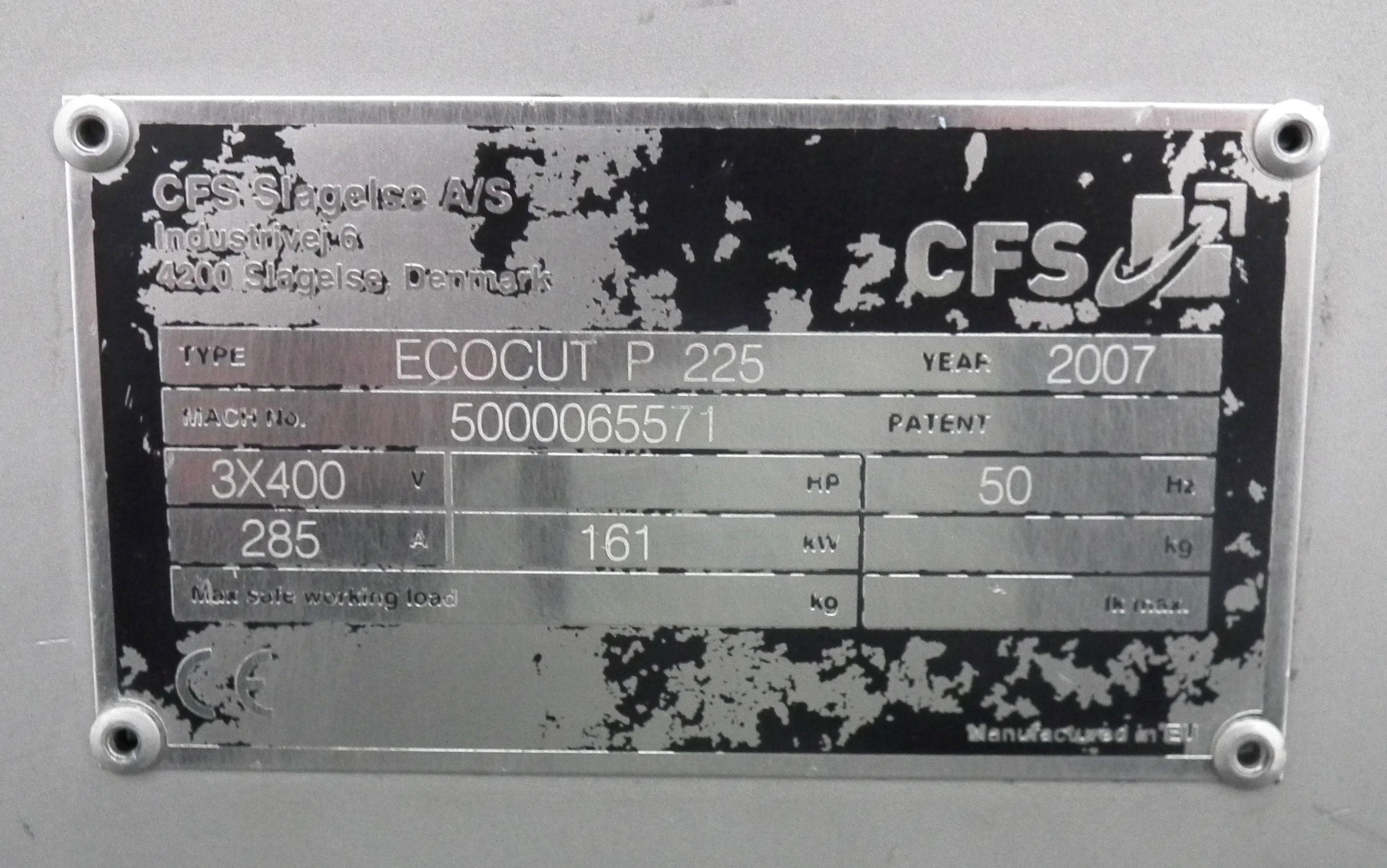 CFS EcoCut P225 Emulsifier B3756 - Image 8 of 8