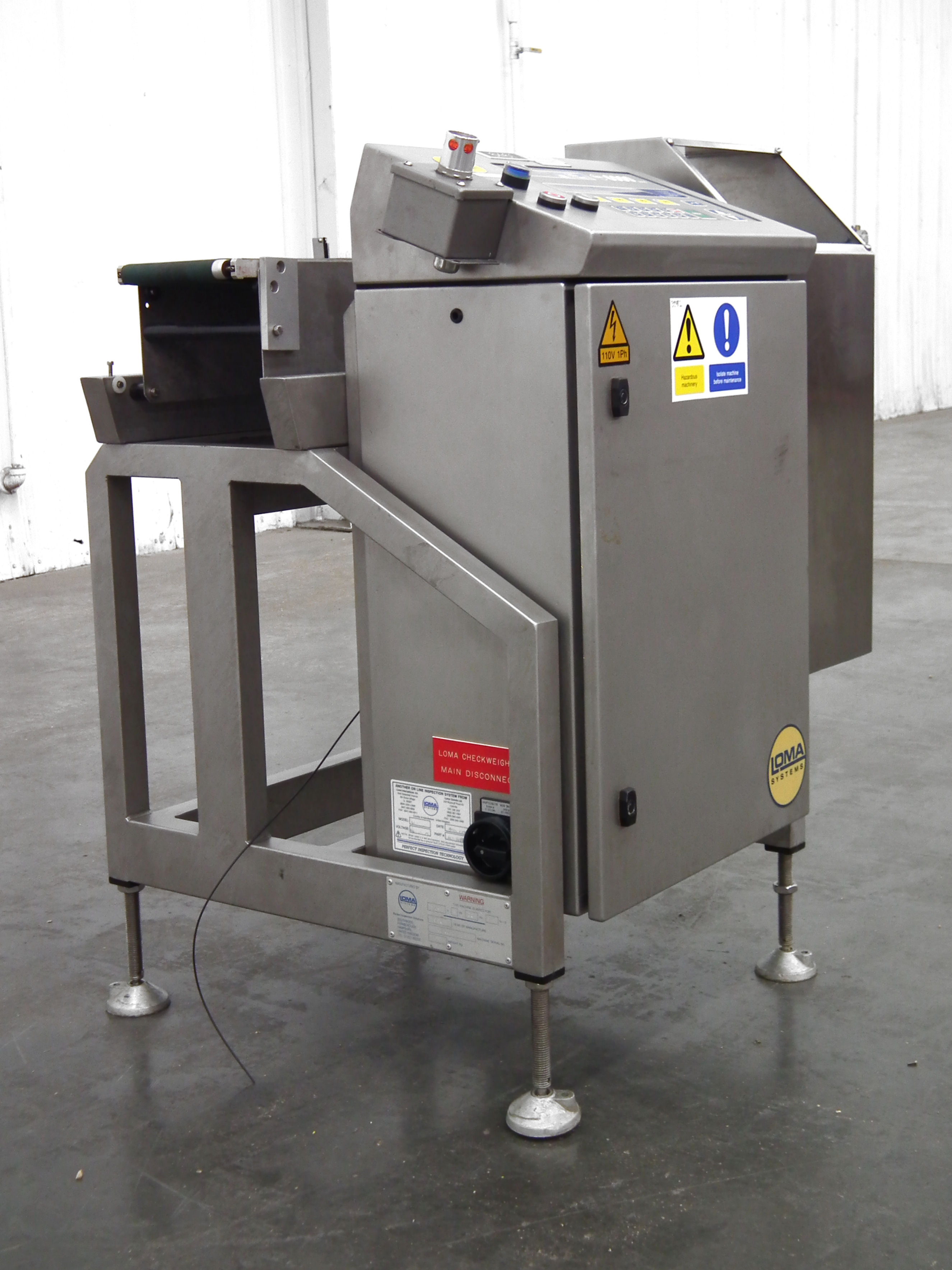 """Loma 6000 Three Belt Checkweigher 5.5"""" Wide Belt B3157 - Image 2 of 9"""