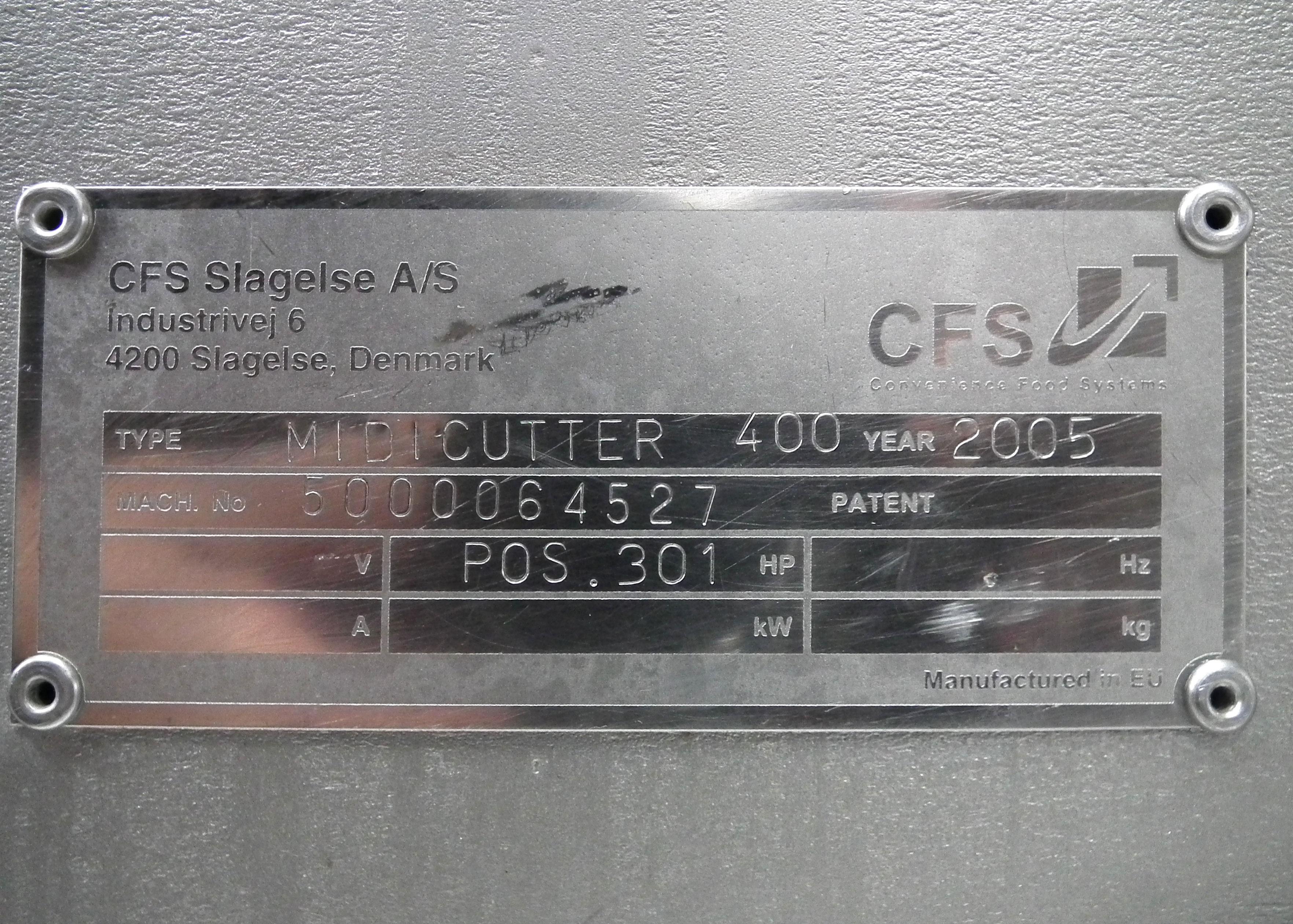 CFS Midicutter 400 Grinder B3665 - Image 11 of 11