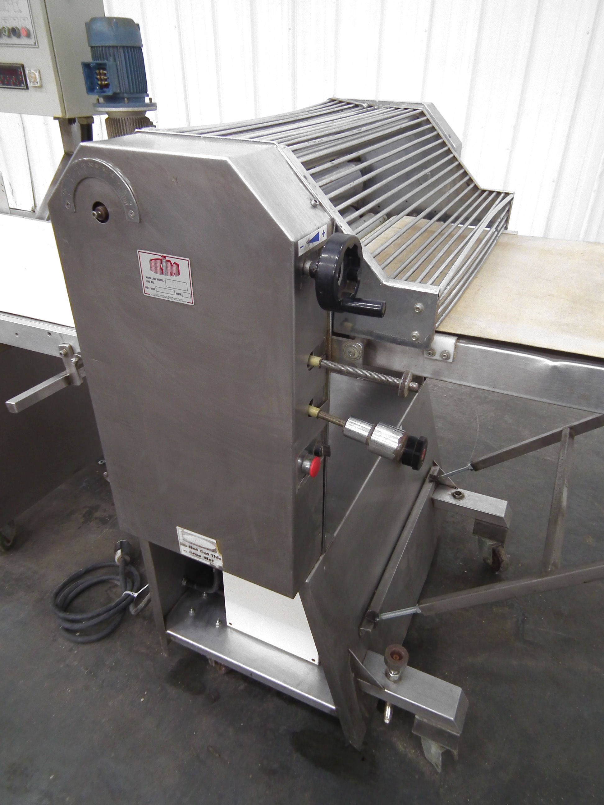 CIM Maxima 165 Dough Sheeter Guillotine 28 In Wide A7948 - Image 9 of 11