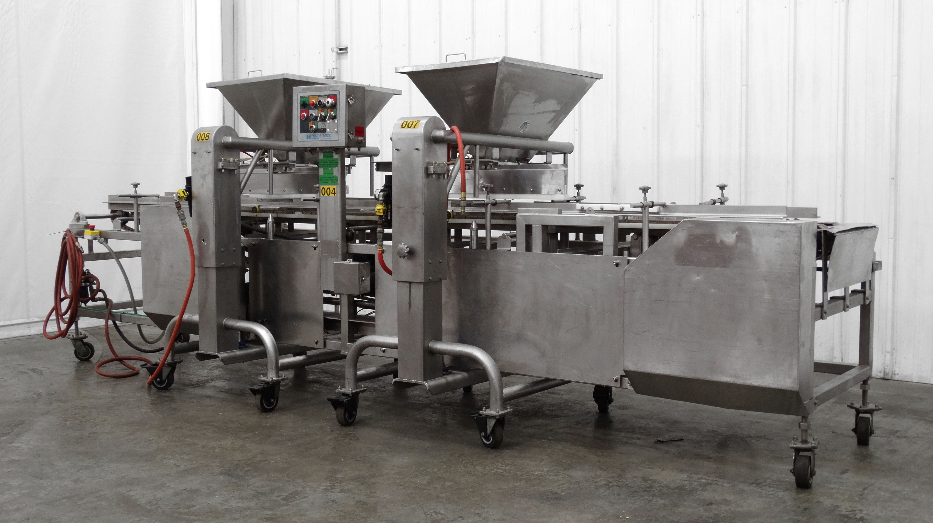 Hinds-Bock Dual Depositor 4P-04 Cheesecake Line B5001
