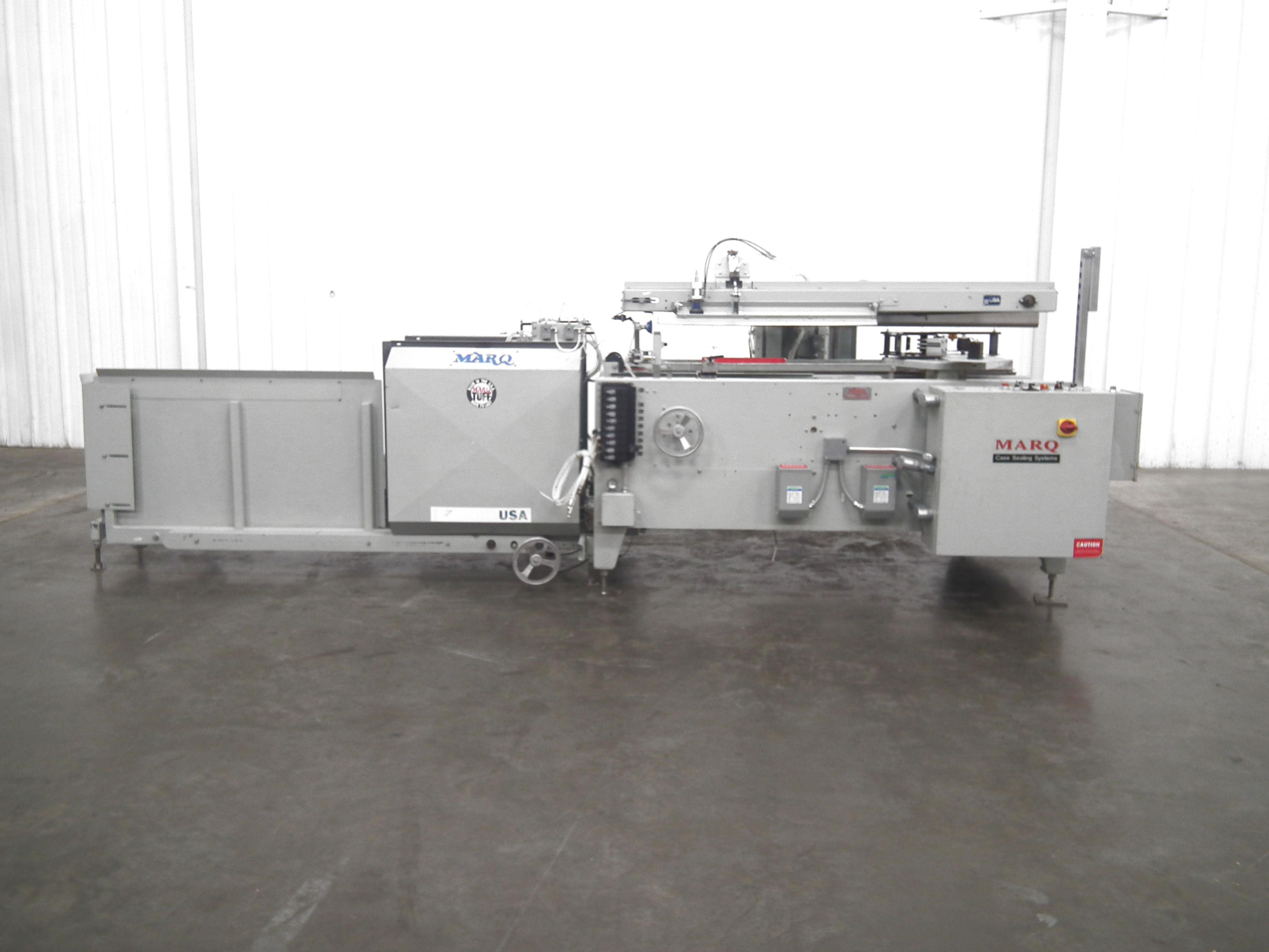 Marq Tuff HPE-NS-MF/RH/DL Bottom Tape Case Erector A9697 - Image 2 of 15