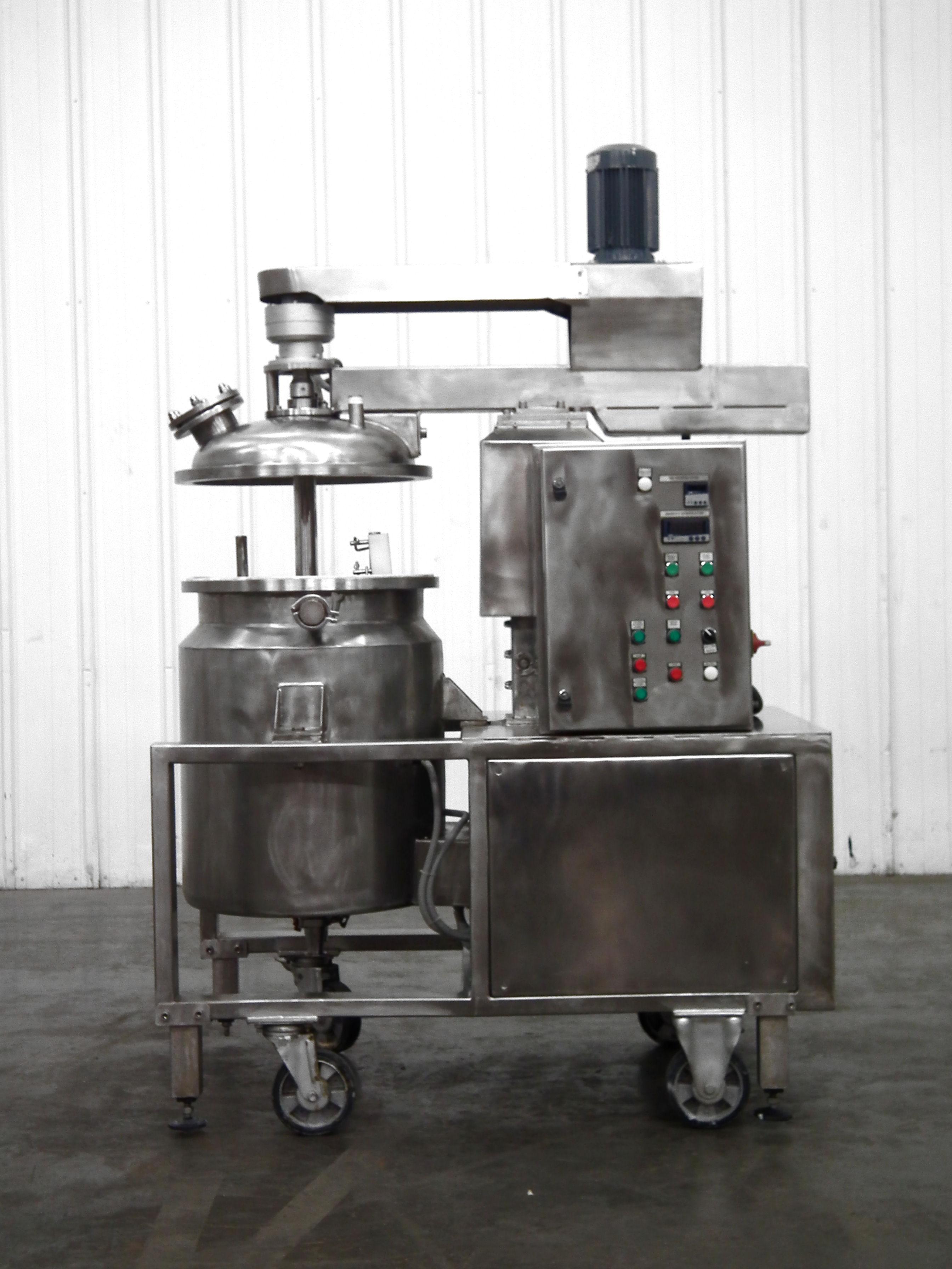Mega Engineering HPE-VA 40 Gallon Pressure Mixer B3864