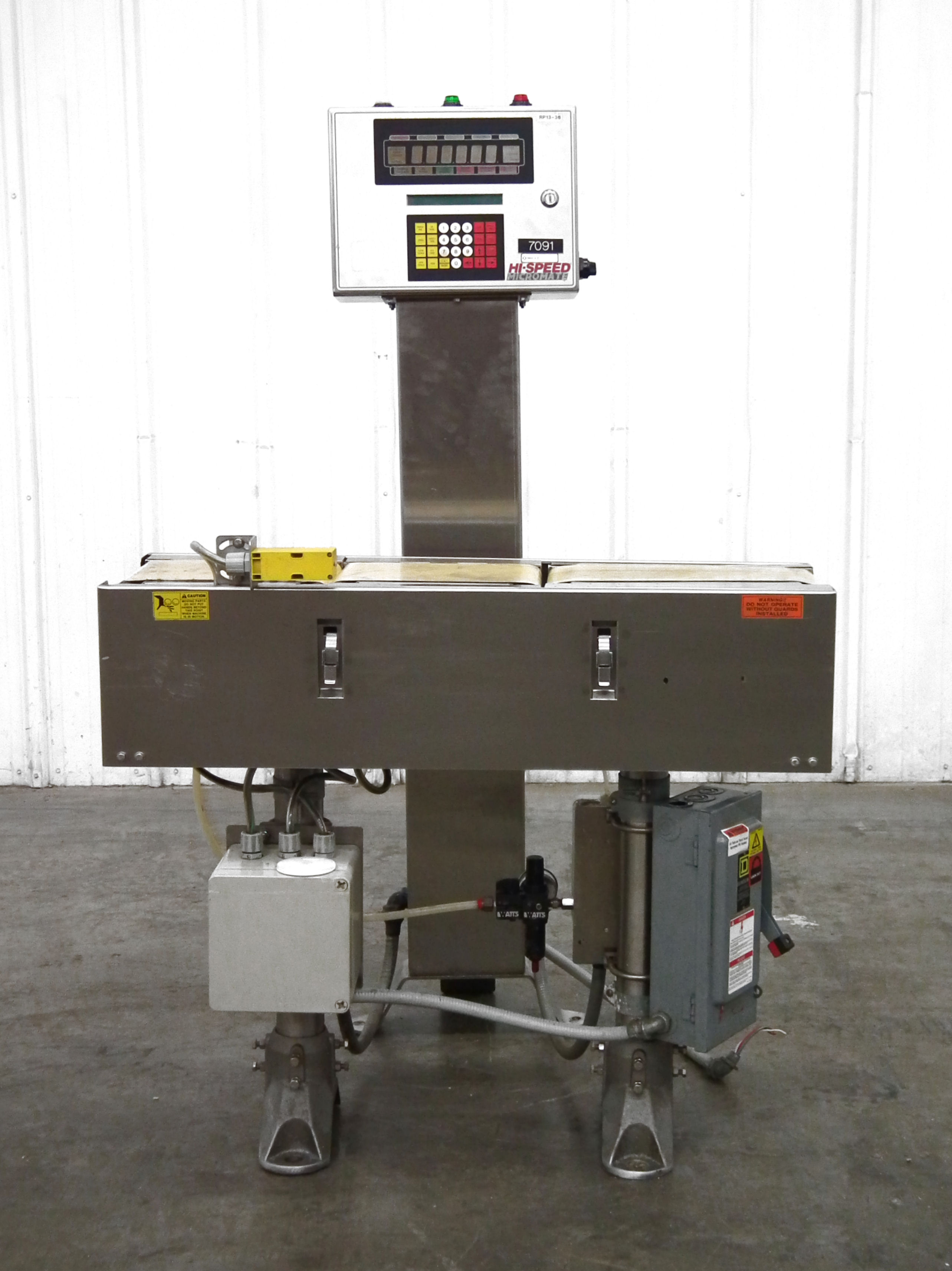 Mettler Toledo Micromate High Speed Checkweigher B3155