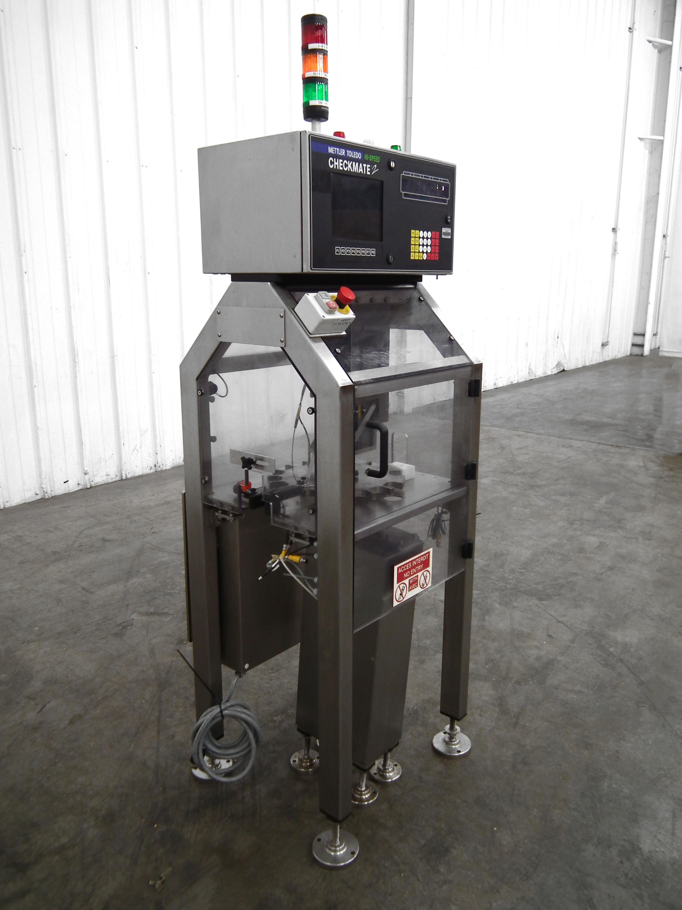 Mettler-Toledo Checkmate 2 Bottle Fill Detector B3171 - Image 3 of 10