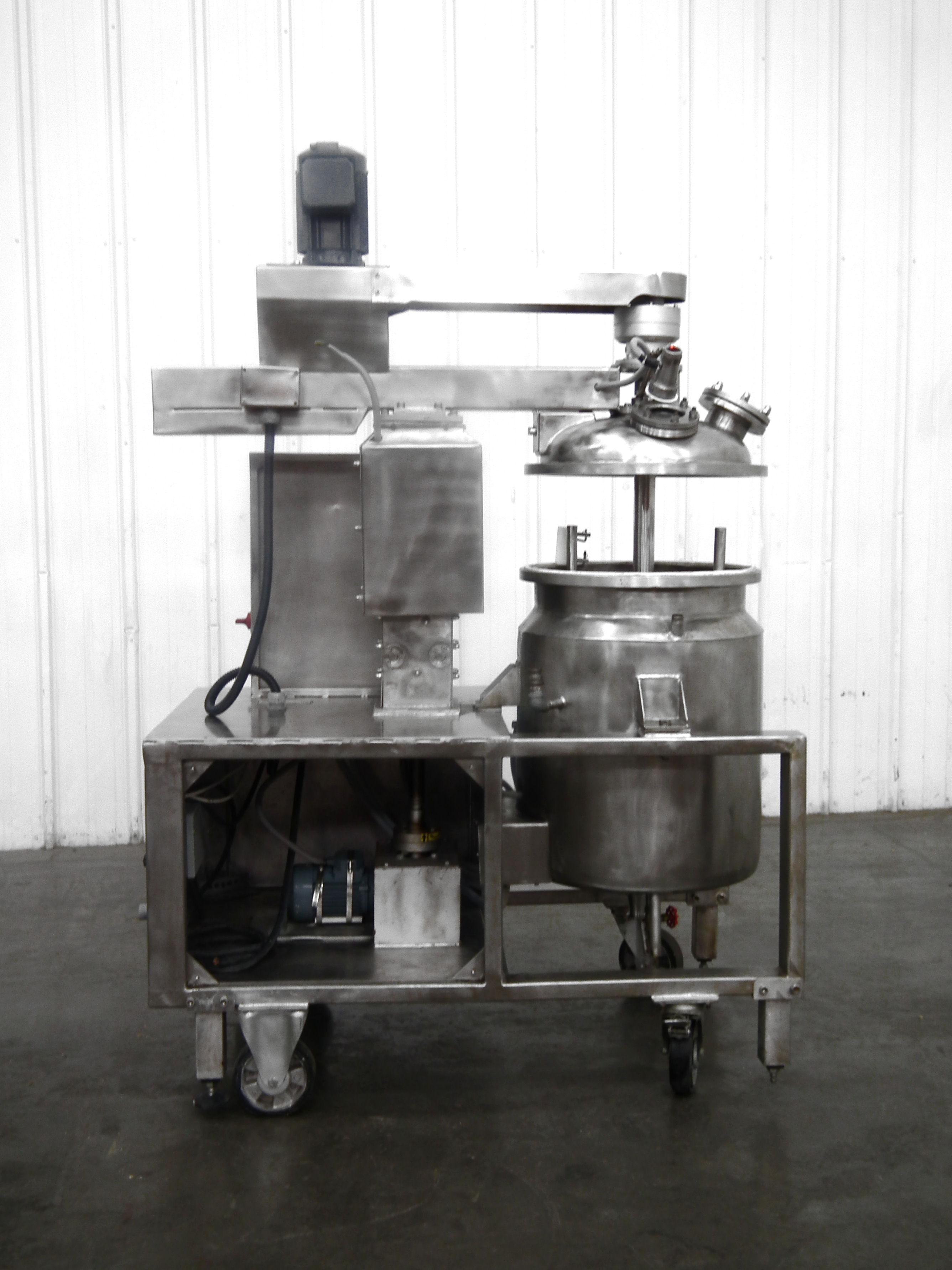 Mega Engineering HPE-VA 40 Gallon Pressure Mixer B3864 - Image 10 of 10