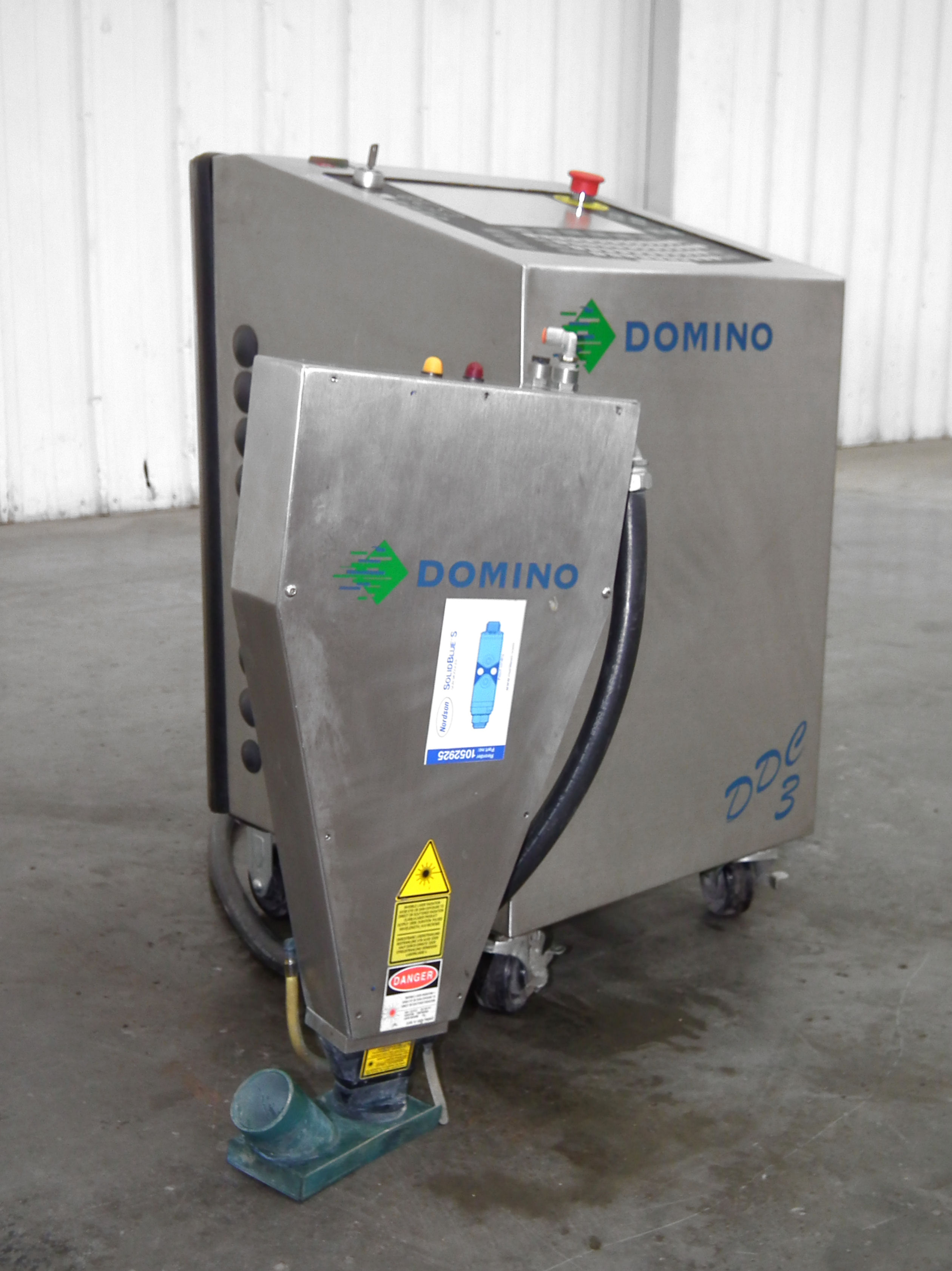 Domino DDC3 Laser Code Dater B4639 - Image 5 of 10