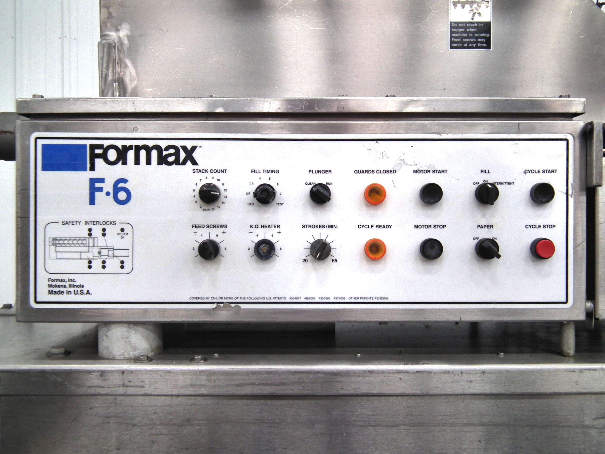 Formax PFM-6 Patty Former Vac-Tear Paper System A1952 - Image 5 of 15
